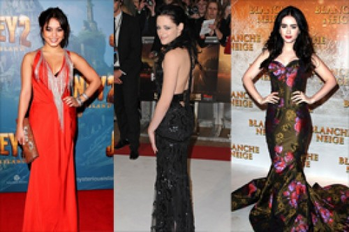 Teen Choice Awards: ¿Kristen Stewart, Lily Collins o Vanessa Hudgens?