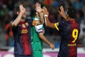 Barcelona con Lionel Messi goleó 8-0 en Marruecos (Video)