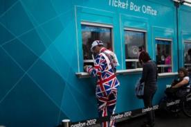 Londres 2012: Revendedores son detenidos durante los Juegos Olímpicos