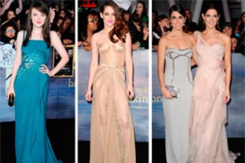 Amanecer Parte 2: ¿Quién fue la actriz mejor vestida de la premier?
