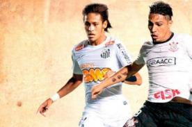 Brasileirao: Paolo Guerrero vs Neymar, el duelo entre Corinthians y Santos