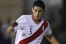 Selección peruana: Carlos Zambrano no jugará frente a Uruguay