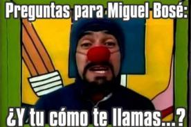 Miguel Bosé es protagonista de divertidos memes