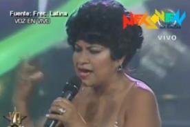 Yo Soy: Carmencita Lara sorprende al jurado con su debut - Video