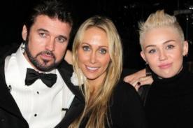 Billy Ray y Tish Cyrus fueron vistos cariñosos a pesar de su divorcio