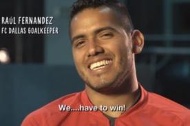 Video: Reportaje de MLS sobre Raúl Fernández