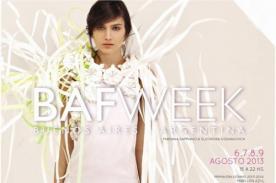 BAFWeek Primavera/Verano 2014 llega a Argentina con fusión de tela y papel