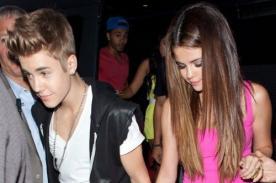 Selena Gomez: Disfruto de la compañía de Justin Bieber