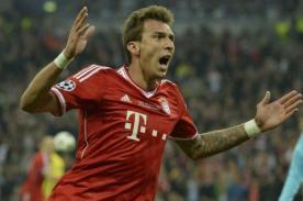 Video: La impresionante volea de Mandzukic en el triunfo de Bayern Munich