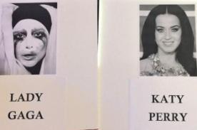 ¿Lady Gaga y Katy Perry se sentarán juntas en los MTV Video Music Awards?