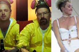 Miley Cyrus critica a la serie Breaking Bad por ser un mal ejemplo