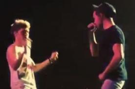 Niall Horan y Liam Payne bailando 'U Can't Touch This' en concierto - Video