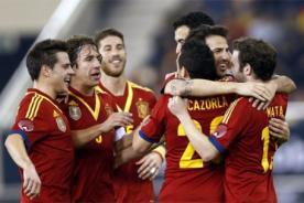 España logró clasificación al Mundial Brasil 2014 - Video