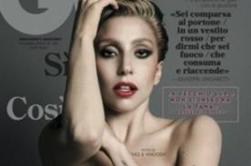 Lady Gaga se muestra completamente desnuda para la revista 'GQ' - Fotos