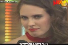 El Gran Show: Vibrante discusión entre Carlos Cacho y Emilia Drago - Video