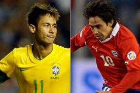 Brasil vs Chile y Holanda vs Colombia entre los amistosos de hoy