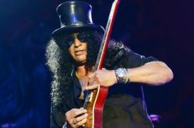 Slash: Estaba ansioso por tocar en Lima