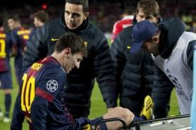 Barcelona sumó segunda derrota consecutiva tras lesión de Lionel Messi