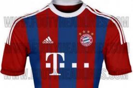 Bayern Múnich vestirá camiseta similar a la del Barcelona