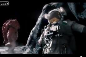 VIDEO: 'Monstruo espacial' ataca a astronautas que llegan a la Luna