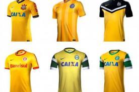Copa Mundial 2014: Equipos de Brasil utilizarán camiseta con el color amarillo