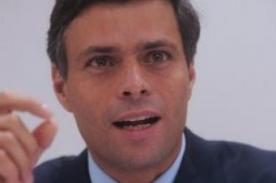 Padre de Leopoldo López: Espero que mi hijo sea presidente de esta república