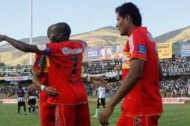 Sport Huancayo empata 2-2 contra César Vallejo - Copa Inca 2014