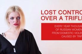 No pierdas el control: Campaña rusa contra violencia a la mujer - VIDEO