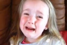 ¡No quiero cumplir cuatro años! Niña llora porque no quiere crecer- VIDEO