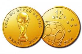 Brasil 2014: Mira las monedas conmemorativas del Mundial - FOTOS