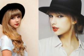 Joven inglesa parece ser el doble de Taylor Swift y sin cirugías