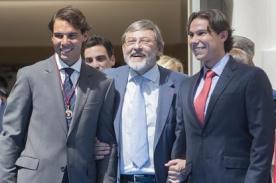¡Igualitos! Rafael Nadal posó con su doble en España-VIDEO