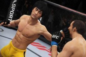 Así luce Bruce Lee en nuevo videojuego de la UFC [Video]