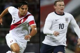 Amistoso Perú vs Inglaterra: Transmisión en vivo por CMD