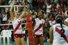 Voley 2014: Selección Peruana venció a Puerto Rico