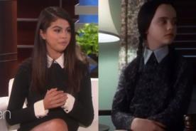 ¿Selena Gomez vistió como los Locos Addams en show de Ellen DeGeneres?