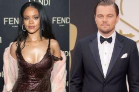 ¿Leonardo DiCaprio le envió rosas a Rihanna?