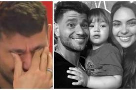 Día del Padre: Yako Eskenazi se emociona hasta las lágrimas con sorpresa de Natalie Vértiz