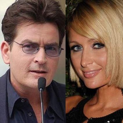 Charlie Sheen y Paris Hilton consideradas las estrellas menos confiables