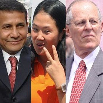 Resultados Elecciones 2011: Conteo rápido de CPI al 92.7% Ollanta 31.5%, Keiko 22.5% y PPK 19.7%