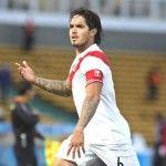 Juan Vargas se perdería el primer partido de eliminatorias contra Paraguay
