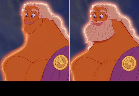 Así lucen los personajes barbones de Disney sin barba
