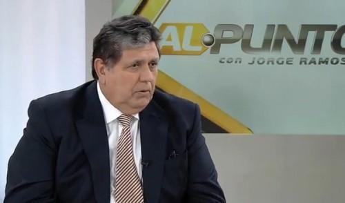 Alan García reveló que le propuso a Humala indultar a Alberto Fujimori