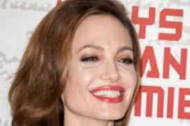 Angelina Jolie en Paris para presentar película