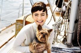 Lily Collins agradecida por comparación con Audrey Hepburn