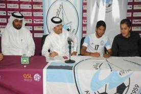 Fútbol peruano: Reimondo Manco fue presentado en el Wakrah de Qatar