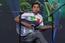 Yo soy: Marcelo Motta sorprende al jurado en casting - Video