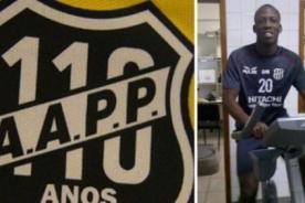 Luis Advíncula fue presentado en Ponte Preta