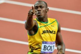 Usain Bolt quiere que se le recuerde como Maradona, Zidane o Pelé