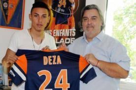 Jean Deza debutó en la Ligue 1 con camiseta del Montpellier